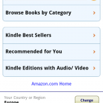 Kindle Store Android Version