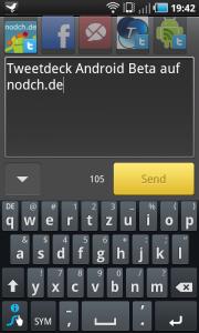 Tweetdeck Android Beta