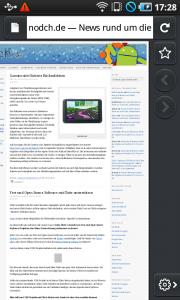 Fennec Alpha für Android und Nokia N900