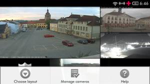 TinyDVR IP-Kamera Betrachter für Android