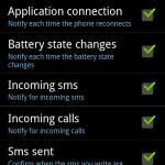 TalkMyPhone Einstellungen 2/2