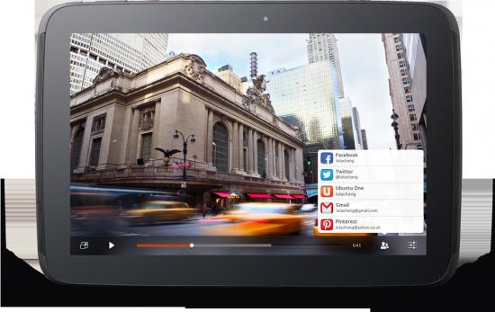 Ubuntu on Tablet