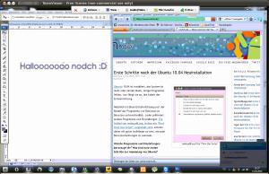 TeamViewer Verbindung von Ubuntu->Windows