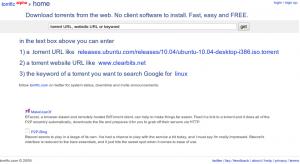 Torrific Website Screenshot