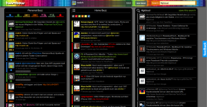 Twimbow farbenfroher Twitter Client