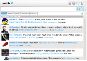 Google Wave TwitterGadget