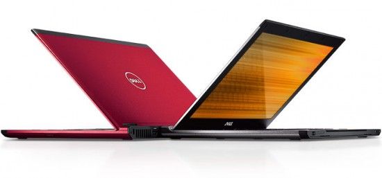 Dell Vostro V130 rot und silber