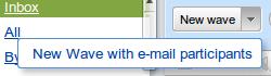 Wave mit E-Mail Teilnehmern