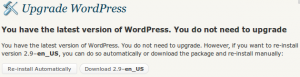 Wordpress 2.9 Carmen