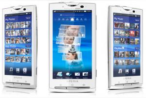 Sony Ericsson Xperia X10 (Foto: Sony Ericsson)